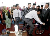 Brunei on your bike - pedal power electricity