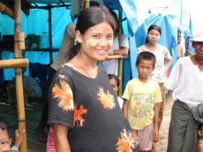 Myanmar woman pregnant PSI